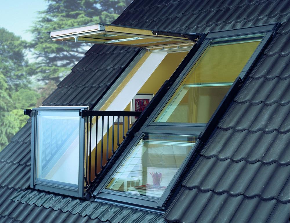 Окно балкон, мансардные окна, окна факро