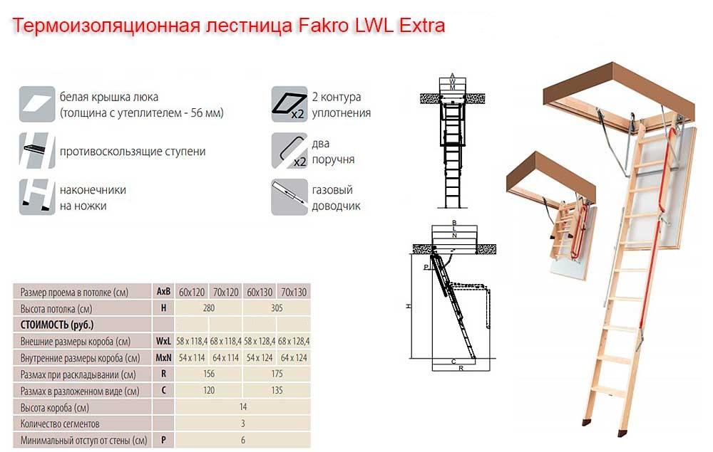 лестница факро лестница LWL